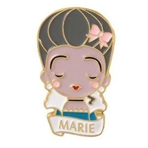 Marie Antoinette Enamel Pin